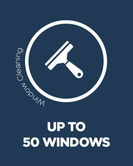 Window Cleaning 50 Windows
